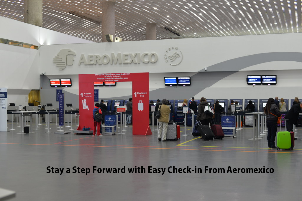 Easy Check-in From Aeromexico