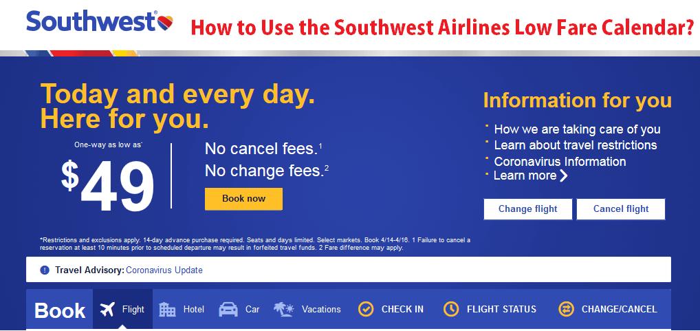 southwest-airlines-low-fare-calendar