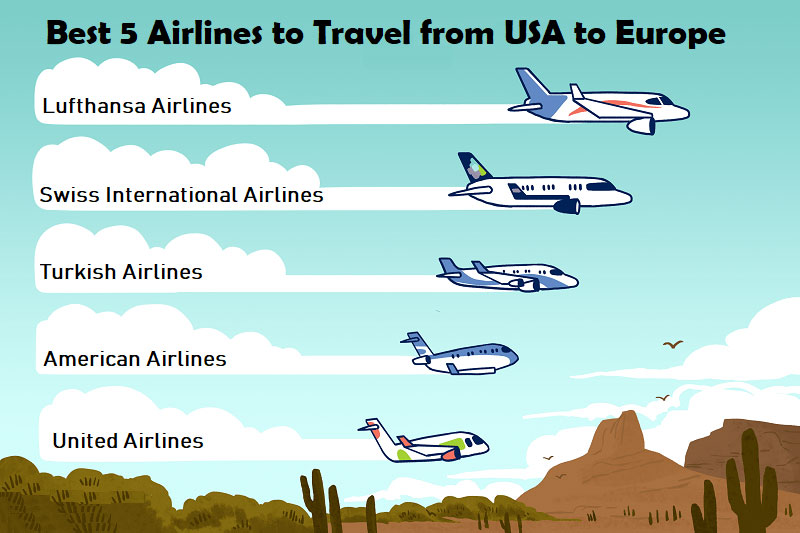 Best-Airlines-to-Travel-from-USA-to-Europe