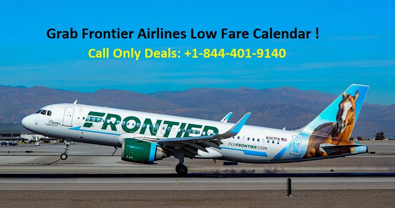 Frontier Low Fare Calendar