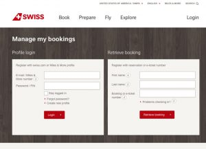 Make Swiss Airlines Reservations