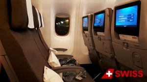 Swiss Airlines Economy Class