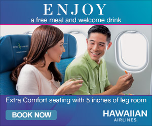 Hawaiian Airlines Free Meal