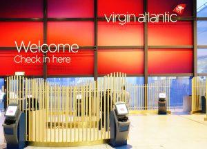 Virgin Atlantic Check-in
