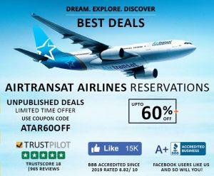 Air Transat Reservation