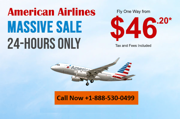 American Airlines special deals