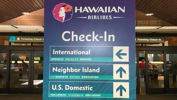 Hawaiian Airlines Check-in