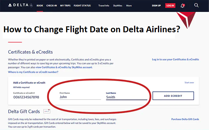 How to Change Flight Date on Delta Airlines?