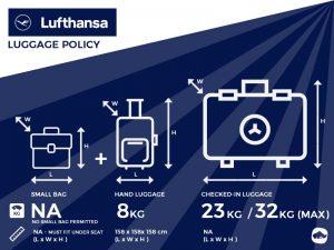 Lufthansa Airlines Baggage Allowance