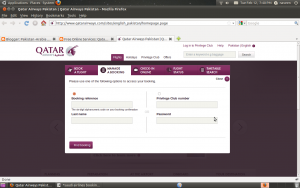 Qatar Airways official site