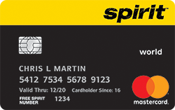 Spirit Airlines Card Facilities