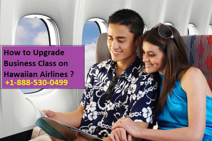 Upgrade Business Class on Hawaiian