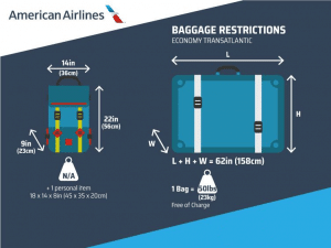 american airlines baggage policy