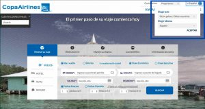official site of Copa Airlines