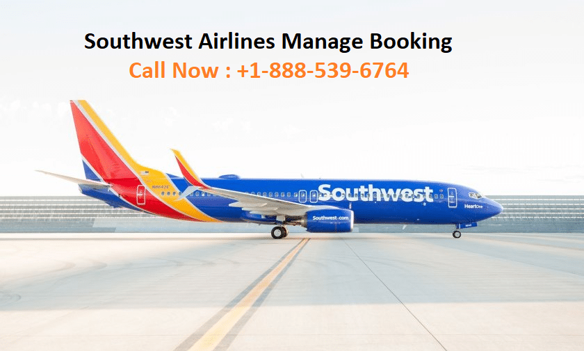 Southwest Airlines Manage Booking
