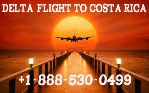Delta Flight to Costa Rica