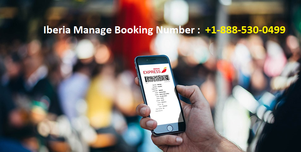 Iberia Manage Booking