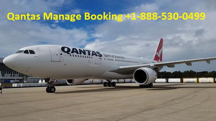 Qantas Manage Booking