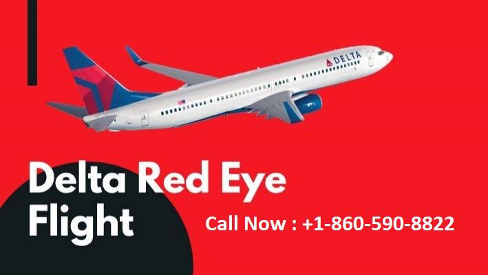 delta red eye flights